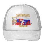 Eslovaquia MMX 32 regalos de calificación de los p Gorras
