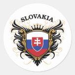 Eslovaquia Pegatinas