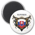 Eslovaquia [personalice] imán para frigorífico