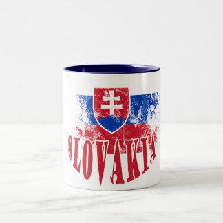 Eslovaquia Taza De Dos Tonos