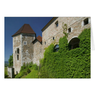ESLOVENIA, Ljubljana: Colina/Ljubljana del castill Tarjeta De Felicitación