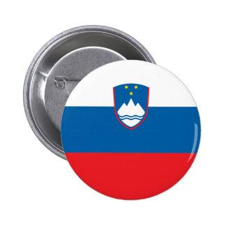 Eslovenia Pin Redondo De 2 Pulgadas