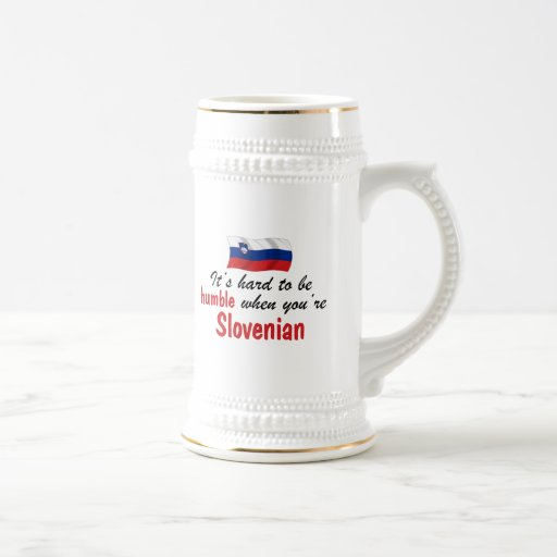 Esloveno humilde jarra de cerveza