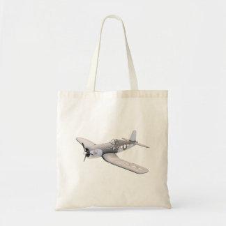 ESM F-4U Corsair airplane Budget Tote Bag