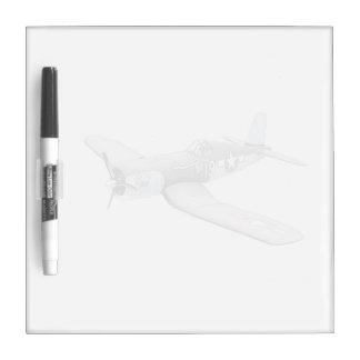 ESM F-4U Corsair airplane Dry Erase Board