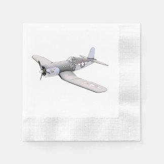 ESM F-4U Corsair airplane Paper Napkin