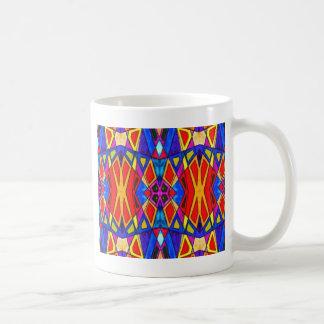 Esmalte brillante abstracto taza