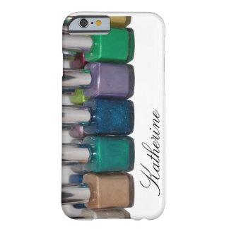 Esmalte de uñas adaptable funda de iPhone 6 barely there