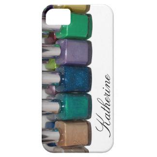 Esmalte de uñas adaptable iPhone 5 carcasas