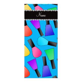 Esmalte de uñas conocido personalizado del arco tarjetas publicitarias a todo color