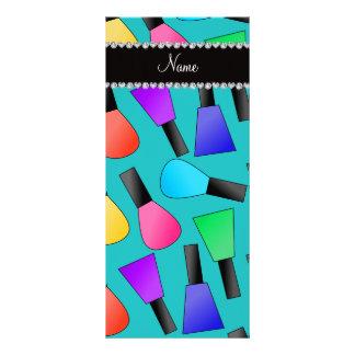 Esmalte de uñas conocido personalizado del arco tarjetas publicitarias