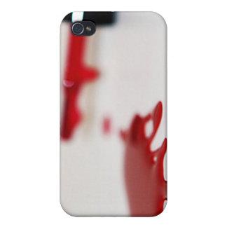 Esmalte de uñas derramado iPhone 4 carcasas