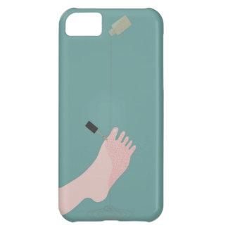 Esmalte de uñas funda para iPhone 5C