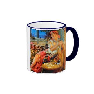 Esme, vintage fortune teller ringer coffee mug