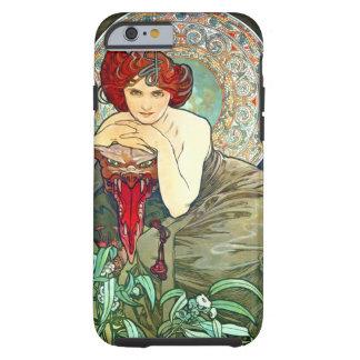 Esmeralda de Mucha Funda De iPhone 6 Tough