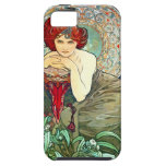 Esmeralda de Mucha iPhone 5 Case-Mate Cobertura