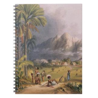 Esmeralda, en el Orinoco, sitio de un Missi españo Libros De Apuntes Con Espiral