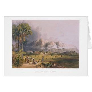 Esmeralda, on the Orinoco, site of a Spanish Missi Cards