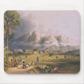 Esmeralda, on the Orinoco, site of a Spanish Missi Mouse Pad