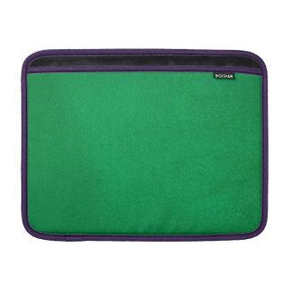Esmeralda texturizada funda para macbook air