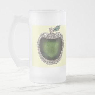 Esmeralda y taza Jeweled diamante