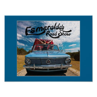 Esmeralda's Roadshow Official Driving Poster