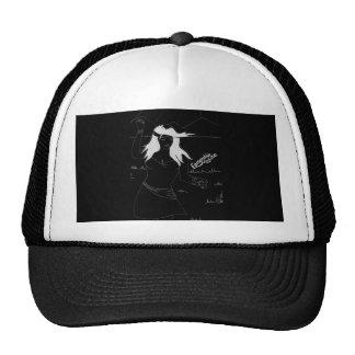 Esmeralda's Roadshow Official Logo in Black Trucker Hat