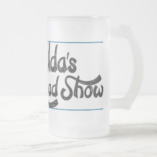 Esmeralda's Roadshow Official Pint Glass Frosted Glass Beer Mug