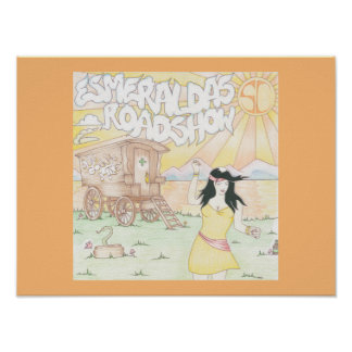 Esmeralda's Roadshow Official Wall Postrer Poster