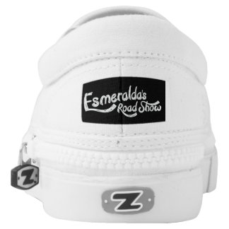 Esmeralda's Roadshow's Official Slip-On Printed Shoes