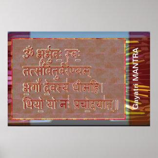Esmero al mantra de GAYATRI Poster
