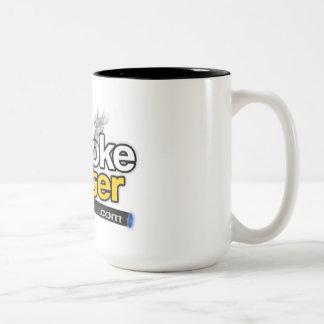 eSmoke Center dot com Two-Tone Coffee Mug