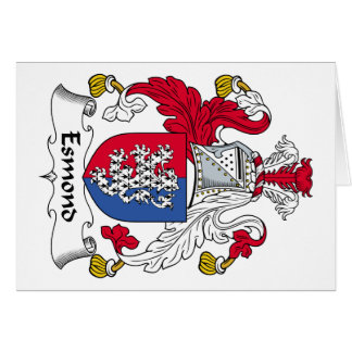 Esmond Family Crest Greeting Card