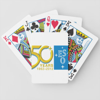 ESO at 50! Bicycle Playing Cards