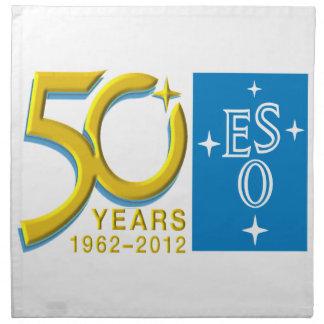 ESO at 50! Cloth Napkin