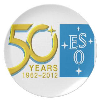 ESO at 50! Melamine Plate