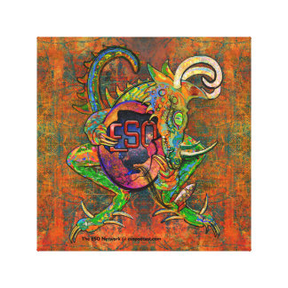 ESO Dragon Canvas Print