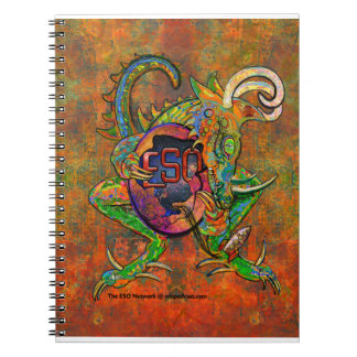 ESO Dragon Spiral Notebook