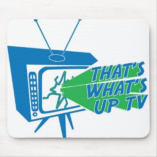 Eso es cuál está encima de cojín de ratón de la TV Alfombrilla De Ratón