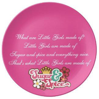 Eso es de lo que hacen las niñas platos de cerámica