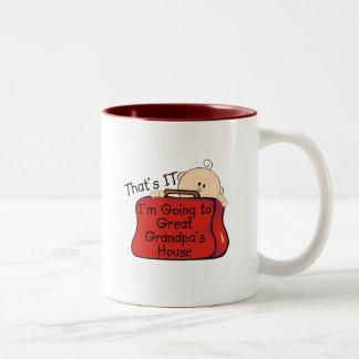 Eso es él gran abuelo tazas de café