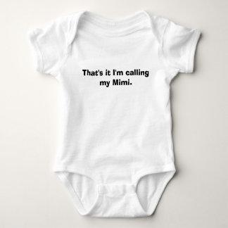 Eso es él que estoy llamando mi Mimi. Camisas