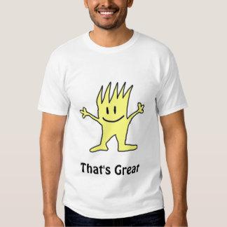 Eso es grande camisas