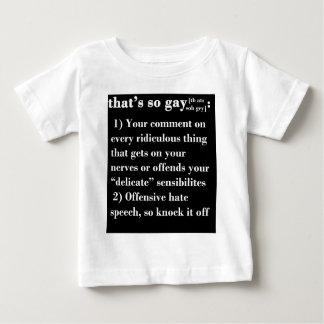 Eso es tan gay tee shirts
