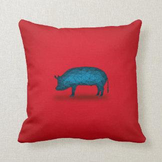 ¡Eso hace el cerdo! Serie de la granja No.3 Cojín