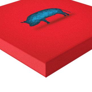Eso hará el cerdo… impresion de lienzo