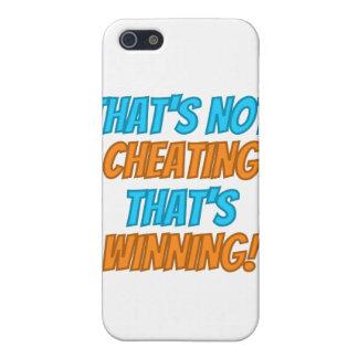 ¡Eso no está engañando, eso está ganando! iPhone 5 Fundas