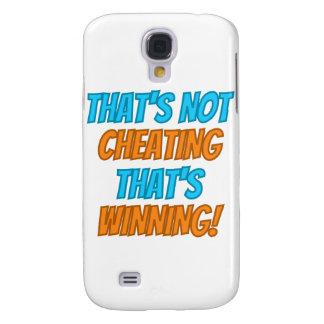 ¡Eso no está engañando, eso está ganando! Funda Para Galaxy S4