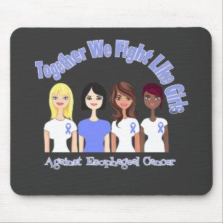 Esophagael Cancer Together We Fight Like Girls Mouse Pads