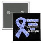 Esophageal Atresia Awareness Ribbon Pinback Buttons